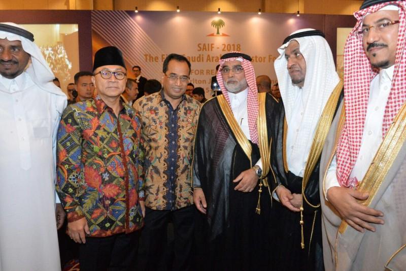 Menhub Dorong Investor Arab Saudi Berinvestasi di Indonesia