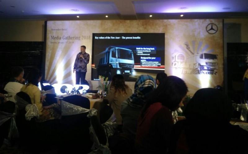 Mercedes-Benz Hadirkan DVCI, Fokus Garap Pasar Kendaraan Niaga di Indonesia